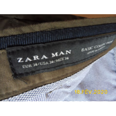 Pantalon slim ZARA Man  pas cher