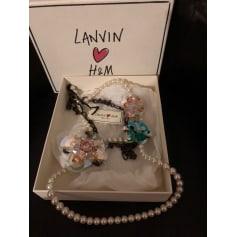 Sautoir Lanvin pour H&M  pas cher