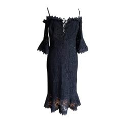 Robe mi-longue Guess  pas cher