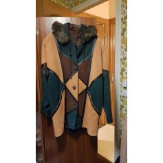 Manteau en cuir Amara Cuir  pas cher