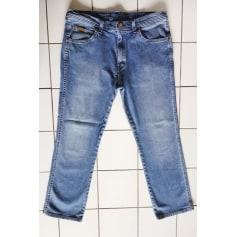 Jeans droit Wrangler  pas cher