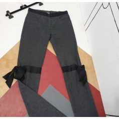 Pantalon droit Chanel  pas cher