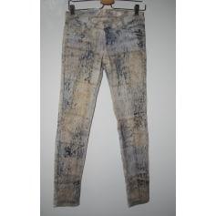 Pantalon slim, cigarette Waggon  pas cher