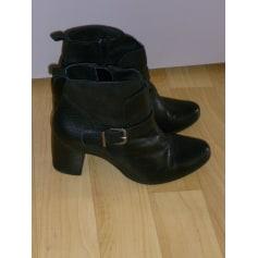 Bottines & low boots à talons   pas cher