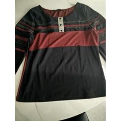 Top, tee-shirt Bleu Blanc Rouge  pas cher
