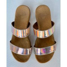 Sandales plates  Blow Up  pas cher