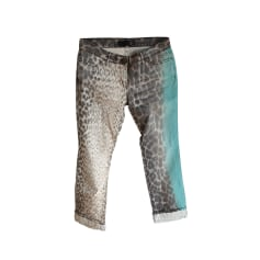 Straight Leg Pants Roberto Cavalli