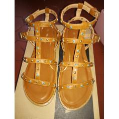 Sandales plates  Wrangler  pas cher