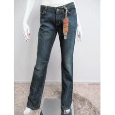 Jeans très evasé, patte d'éléphant D&G  pas cher