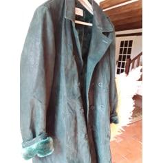 Manteau en cuir Isaco  pas cher