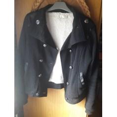 Manteau Manteau noir  pas cher