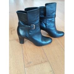 Bottines & low boots à talons Rose tango  pas cher