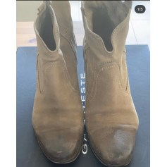 Bottines & low boots plates Gaia d'este  pas cher