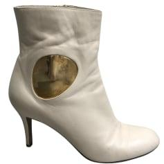 Bottines & low boots à talons Sergio Rossi  pas cher