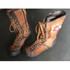 Bottines & low boots plates Palladium  pas cher
