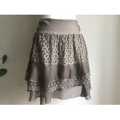 Jupe courte jupe courte en voile taille 38  pas cher