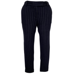 Pantalon droit Diane Von Furstenberg  pas cher
