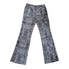 Pantalon droit Christian Lacroix  pas cher