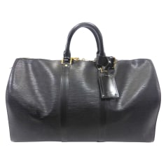 Sac XL en cuir Louis Vuitton Keepall pas cher
