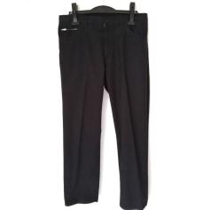 Pantalon droit Yohji Yamamoto  pas cher