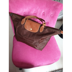Non-Leather Handbag Longchamp Pliage