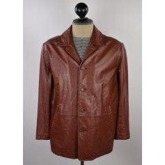 Manteau en cuir Pierre Cardin  pas cher