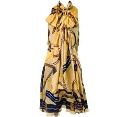 Robe mi-longue Ralph Lauren  pas cher