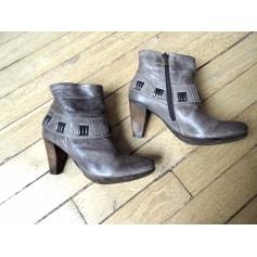 Bottines & low boots à talons Sacha  pas cher