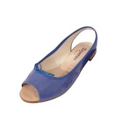 Sandales plates  Repetto  pas cher