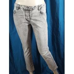 Jeans droit Cotélac  pas cher