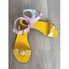 Sandales plates  Paradoxale  pas cher