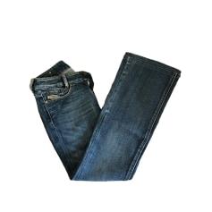 Jeans très evasé, patte d'éléphant Diesel  pas cher