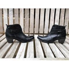 Bottines & low boots à talons Corine  pas cher