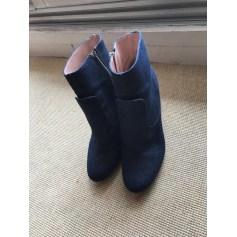 Bottines & low boots à talons Zara  pas cher