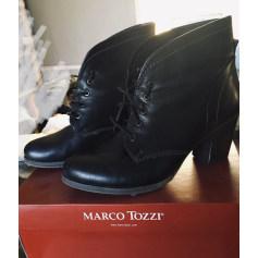Bottines & low boots à talons Marco Tozzi  pas cher