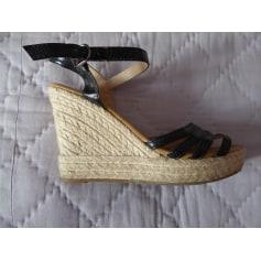 Sandales compensées Super Mode  pas cher