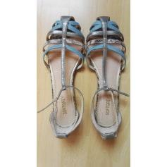 Sandales plates  Soft Grey  pas cher