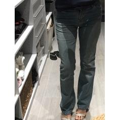 Jeans droit Jeans Dynam  pas cher