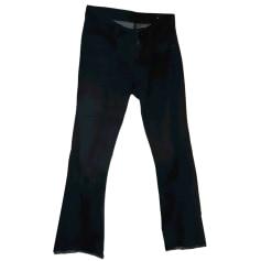 Jeans très evasé, patte d'éléphant Berenice  pas cher