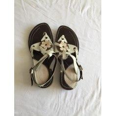 Sandales plates  Khrio  pas cher