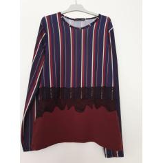 Top, tee-shirt Haut rayé Zara  pas cher