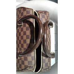 Sac à main en tissu Louis Vuitton W pas cher
