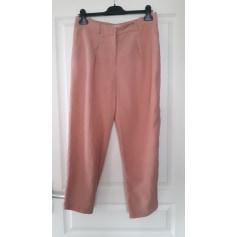 Pantalon carotte Promod  pas cher