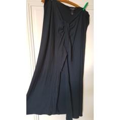Jupe longue Blanc Bleu  pas cher