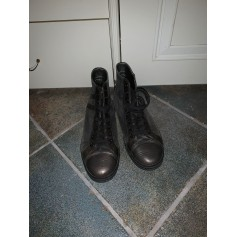 Bottines & low boots plates Hogan  pas cher