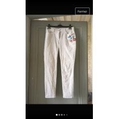 Pantalon slim, cigarette Zapa  pas cher