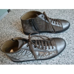Bottines & low boots plates MAIMAI  pas cher