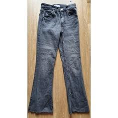 Jeans très evasé, patte d'éléphant Zara  pas cher