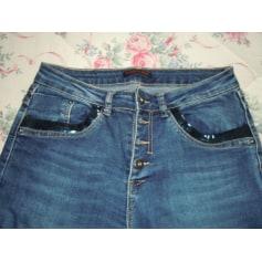 Jeans droit Place Du Jour  pas cher