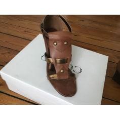 Sandales compensées Cosmo  pas cher